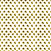 sunflower polka-dots white smaller
