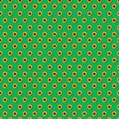 sunflower polka-dots green smaller