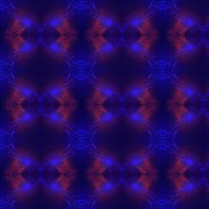 Violet underwater
