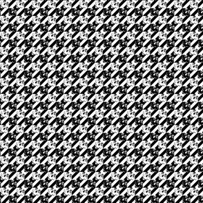 hounds tooth of the dead black and white medium