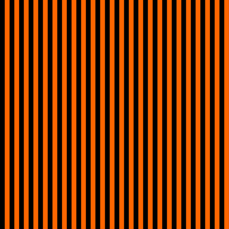 Black and Orange Vertical Stripes (Six Stripes to an Inch ...