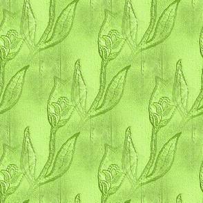 Green Tulips - Medium