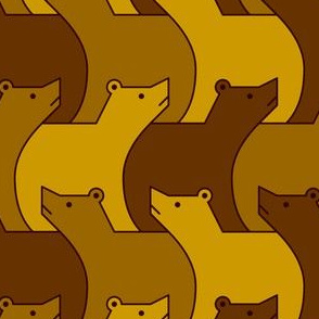 07024749 : 3 brown bears