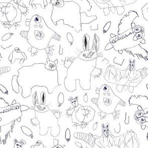 Kids drawings 4