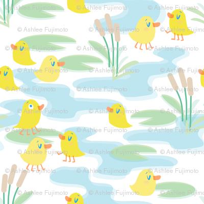 four legged duck pond