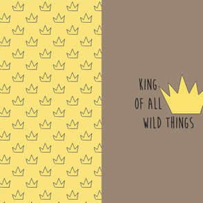 wild things plain blanket-01