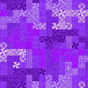Tapa Tuesday Purple
