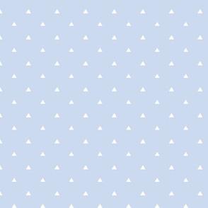 Tiny Triangles - Light Lilac