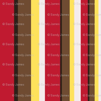 Gingerbread stripe 8x8