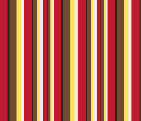 Gingerbread stripe 8x8 fabric by leroyj on Spoonflower - custom fabric