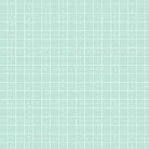 grid world map -seafoam