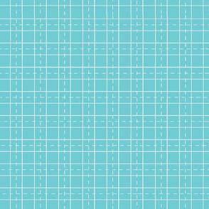 grid world map -turquoise
