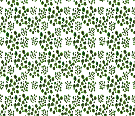 watercolor dots fabric by t_textile_design on Spoonflower - custom fabric