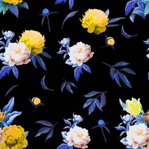 vintageflower yellow