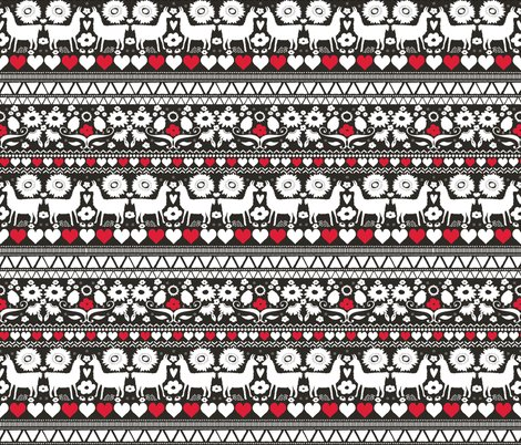 Rrrckeller-llamapattern_blackandwhite-red-spoonflower_shop_preview
