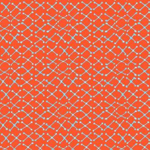 Rowan Orange and Blue Xnet
