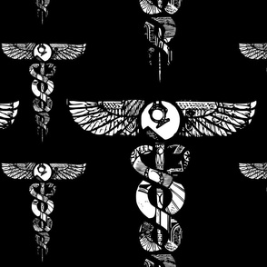 Black Wild Caduceus