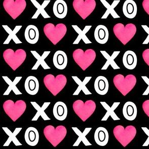 XOXO Heart - Black