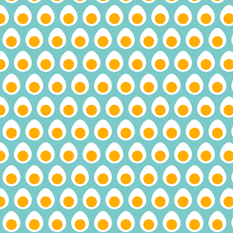 Tiny Eggs fabric by jadegordon on Spoonflower - custom fabric