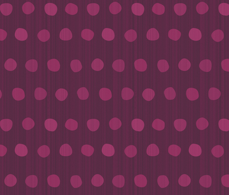 dots-magenta purple berry fabric by wren_leyland on Spoonflower - custom fabric
