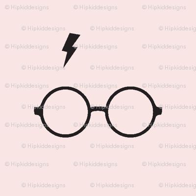 Wizard Glasses // Blush