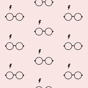 Wizard Glasses // Blush