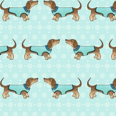 Rrdachshunds-in-coats-on-blue-150-hazel-fisher-creations_shop_preview