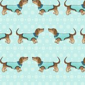 Rrdachshunds-in-coats-on-blue-150-hazel-fisher-creations_shop_thumb