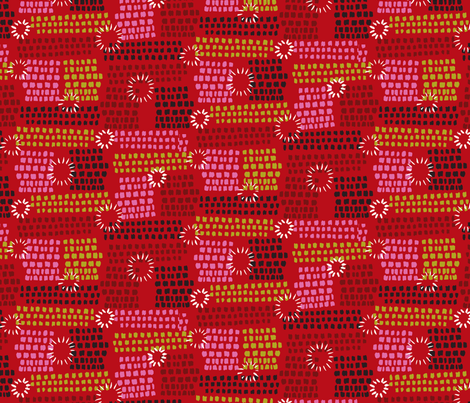 A Show of Dazzle fabric by seesawboomerang on Spoonflower - custom fabric