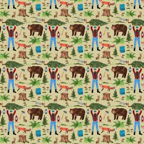 Woodsman Pattern