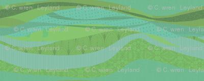 pistache green landscape