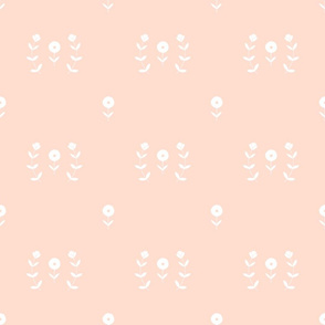 Basic Flowers - Ballet Pink