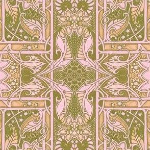 Do the Pinker Paisley Nouveau Twist