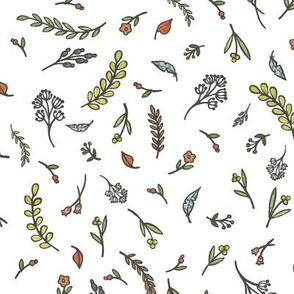 Leaves and Floral small scatter