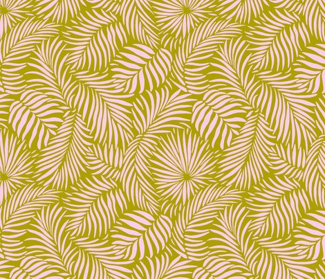 Palm-leaves-olive-pink-tropical-design-for-beach-and-swim_shop_preview