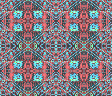 fijian tapa C32 fabric by hypersphere on Spoonflower - custom fabric