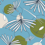 Fronds and Pods OCEAN