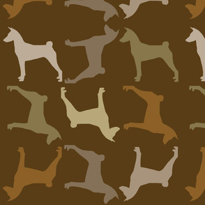 Fabric Pattern Browns