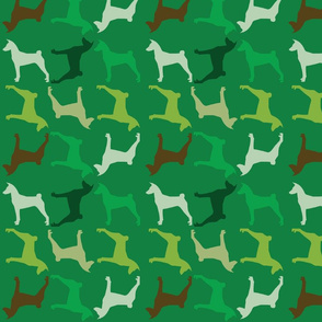 Fabric Pattern Greens