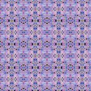lavender floral in watercolor