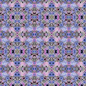 lavender watercolor floral