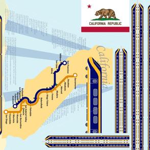 California High Speed Rail Apron