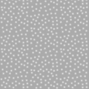 Twinkling Dots on Mountain Fog Grey