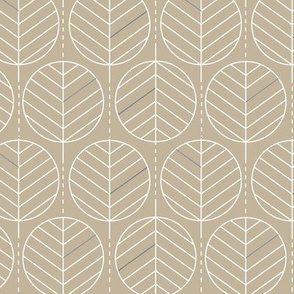 Geometric Palmleaves Sand