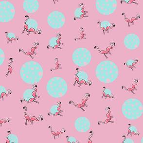 Flamingo Bubble Party