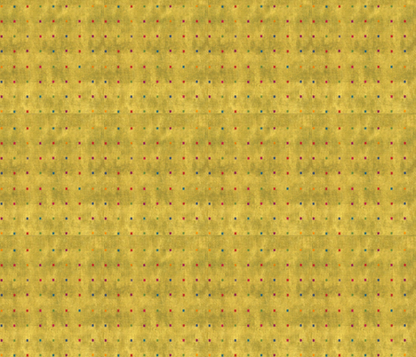 Gold Square Dots fabric by twilfley on Spoonflower - custom fabric
