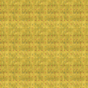 Gold Square Dots
