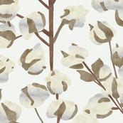 Cotton Wallpaper Large Scale P947b
