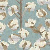 Cotton Wallpaper Large Scale P947b3