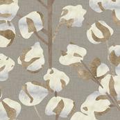 Cotton Wallpaper Large Scale P947b4